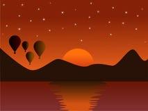 ήλιος ανόδου Στοκ Φωτογραφία