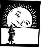 ήλιος αύξησης ατόμων ελεύθερη απεικόνιση δικαιώματος