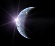 ήλιος γήινης αύξησης Στοκ εικόνες με δικαίωμα ελεύθερης χρήσης