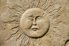 ήλιος γλυπτών Στοκ Εικόνες