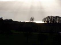 ήλιος ελαφριάς ομίχλης &epsil Στοκ εικόνα με δικαίωμα ελεύθερης χρήσης