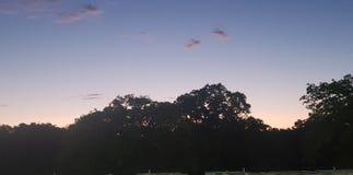 Ήλιος επάνω στο Τέξας στοκ εικόνες