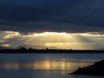 ήλιος επίθεσης Στοκ φωτογραφίες με δικαίωμα ελεύθερης χρήσης