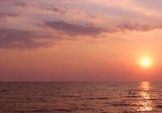 ήλιος θάλασσας φύσης στοιχείων σχεδίου στοκ εικόνα με δικαίωμα ελεύθερης χρήσης