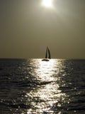 ήλιος κάτω Στοκ εικόνα με δικαίωμα ελεύθερης χρήσης