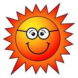 ήλιος κινούμενων σχεδίων Στοκ Εικόνα