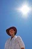 ήλιος κοριτσιών Στοκ εικόνα με δικαίωμα ελεύθερης χρήσης