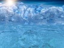 ήλιος ουρανού θάλασσας Στοκ Εικόνες