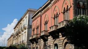 Ήλιος πέρα από Palazzo Lucchetti στοκ εικόνες με δικαίωμα ελεύθερης χρήσης