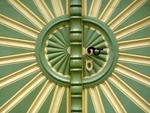ήλιος πορτών Στοκ εικόνες με δικαίωμα ελεύθερης χρήσης