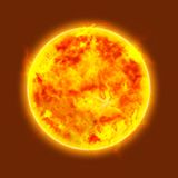 ήλιος πυράκτωσης Στοκ φωτογραφία με δικαίωμα ελεύθερης χρήσης