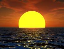 Ήλιος στη θάλασσα 2 ελεύθερη απεικόνιση δικαιώματος