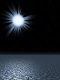 ήλιος τοκετού Στοκ Εικόνες