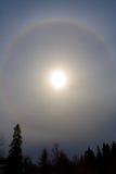 ήλιος φωτοστεφάνου Στοκ φωτογραφίες με δικαίωμα ελεύθερης χρήσης