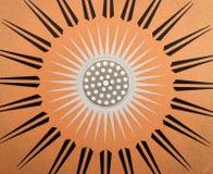 ήλιος χάλυβα ανασκόπηση&sigma Στοκ φωτογραφίες με δικαίωμα ελεύθερης χρήσης