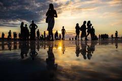 ήλιος χαιρετισμού της Κροατίας σε zadar Στοκ εικόνα με δικαίωμα ελεύθερης χρήσης