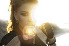 ήλιος ύφους βράχου κορι& Στοκ φωτογραφία με δικαίωμα ελεύθερης χρήσης