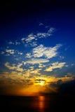 ήλιος 02 ανόδου Στοκ Εικόνες