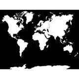 Ήπειροι και χώρες παγκόσμιων χαρτών επίσης corel σύρετε το διάνυσμα απεικόνισης απεικόνιση αποθεμάτων
