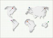 Ήπειροι περικοπών απεικόνιση αποθεμάτων