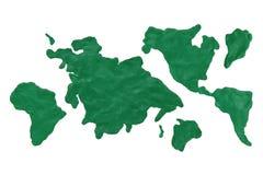 ήπειροι διανυσματική απεικόνιση