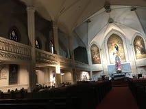 Ήρεμη εκκλησία Στοκ Φωτογραφία