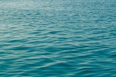 Ήρεμη επιφάνεια θάλασσας Στοκ εικόνα με δικαίωμα ελεύθερης χρήσης