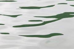Ήρεμη επιφάνεια νερού κυμάτων με τους μικρούς κυματισμούς απεικόνιση αποθεμάτων