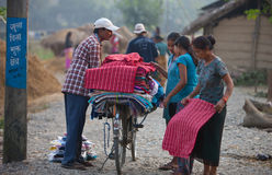 ήρεμη ζωή nepalese Στοκ φωτογραφίες με δικαίωμα ελεύθερης χρήσης