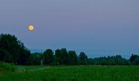 Ήρεμη θερινή νύχτα Στοκ Εικόνες