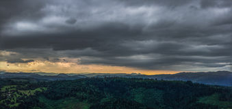 ήρεμη θύελλα Στοκ Εικόνες