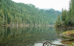 Ήρεμη και ειρηνική λίμνη Στοκ εικόνα με δικαίωμα ελεύθερης χρήσης
