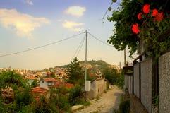 Ήρεμη οδός Plovdiv Στοκ Φωτογραφία