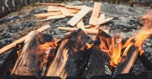 Ήρεμη πυρκαγιά Στοκ Εικόνες