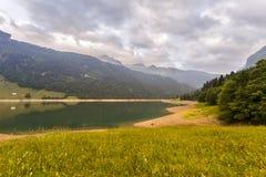 Ήρεμη σκηνή στην Ελβετία στοκ εικόνες