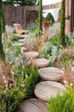 Ήρεμος κήπος στοκ εικόνες με δικαίωμα ελεύθερης χρήσης