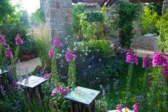 Ήρεμος κήπος στοκ εικόνα με δικαίωμα ελεύθερης χρήσης