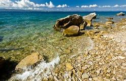 ήρεμος καιρός θάλασσας &alph στοκ εικόνες με δικαίωμα ελεύθερης χρήσης