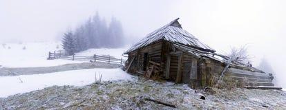 ήρεμος χειμώνας βουνών τοπίων Στοκ Εικόνα