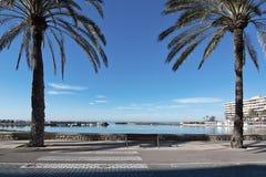 Ήρεμος Cala Estancia κόλπος στοκ εικόνα