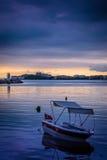 Ήρεμο λιμάνι πριν από τη θύελλα Στοκ φωτογραφίες με δικαίωμα ελεύθερης χρήσης