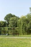 Ήρεμο πάρκο Στοκ Φωτογραφία