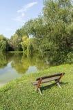 Ήρεμο πάρκο Στοκ Εικόνα