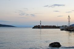 Ήρεμο πρωί στη θάλασσα Στοκ Εικόνα