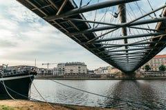 Ήρεμο πρωί Wisla στον ποταμό Στοκ εικόνα με δικαίωμα ελεύθερης χρήσης