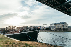 Ήρεμο πρωί Wisla στον ποταμό Στοκ φωτογραφίες με δικαίωμα ελεύθερης χρήσης