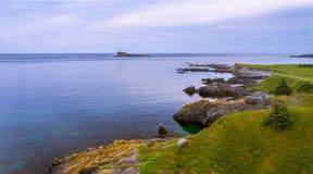 Ήρεμο ωκεάνιο τοπίο Στοκ Εικόνες