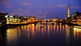 Ήρεμο nighty Λονδίνο στοκ φωτογραφία με δικαίωμα ελεύθερης χρήσης