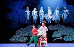 Ήρθε στο αρχαίο παλτό χρόνος-Jiangxi OperaBlue Στοκ φωτογραφίες με δικαίωμα ελεύθερης χρήσης