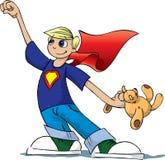 ήρωας αγοριών απεικόνιση αποθεμάτων